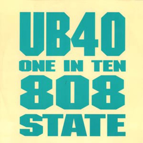 UB 40 - One in ten