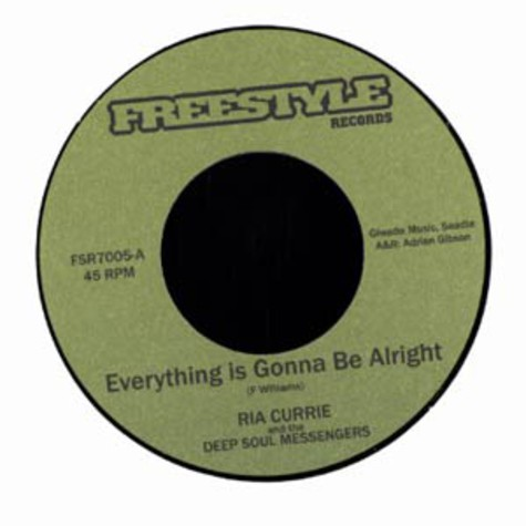 Ria Currie - Everything is gonna be alright