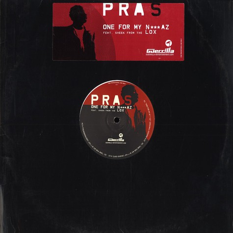 Pras - One for my niggaz feat. Sheek from The Lox