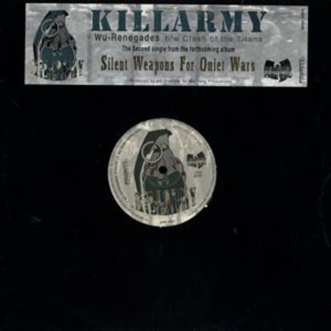 Killarmy - Wu-renegades