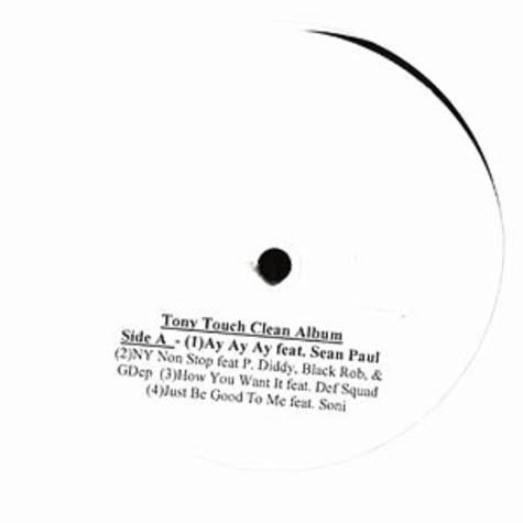 Tony Touch - Clean album