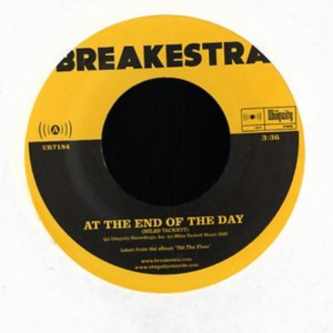 Breakestra - At the end of the day