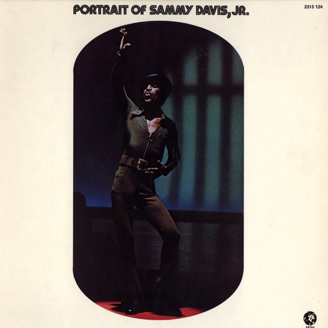 Sammy Davis Jr. - Portrait of sammy davis jr