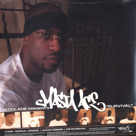Masta Ace / Strick - Survival / Hate me too