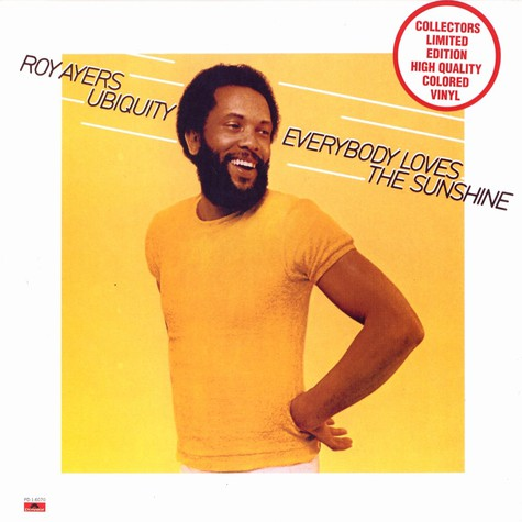 Roy Ayers - Everybody loves the sunshine Coloured Vinyl Edition