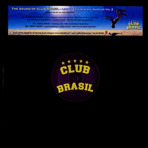 V.A. - The sound of Club Brasil volume 2
