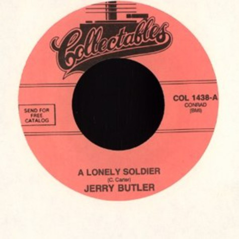 Jerry Butler - A lonely soldier