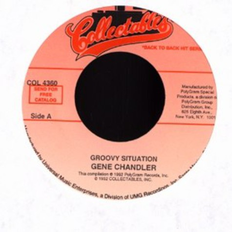 Gene Chandler / Johnny Bristol - Groovy situation / hang on in there baby