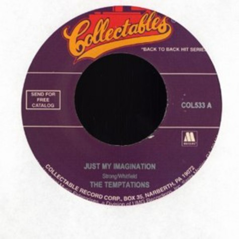 Temptations, The - Just my imagination