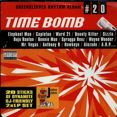 Greensleeves Rhythm Album #20 - Time bomb