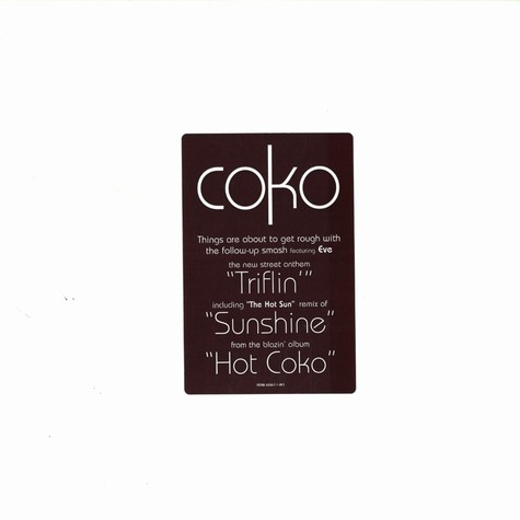 Coko of SWV - Triflin feat. Eve