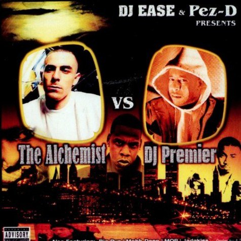 DJ Ease & Pez-D - The Alchemist vs. DJ Premier