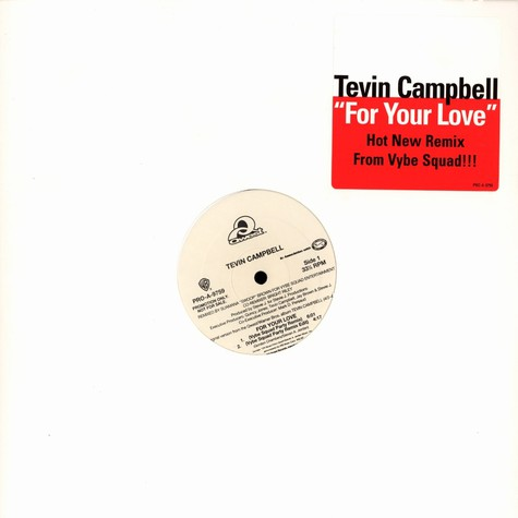 Tevin Campbell - For your love Vibe Squad remix