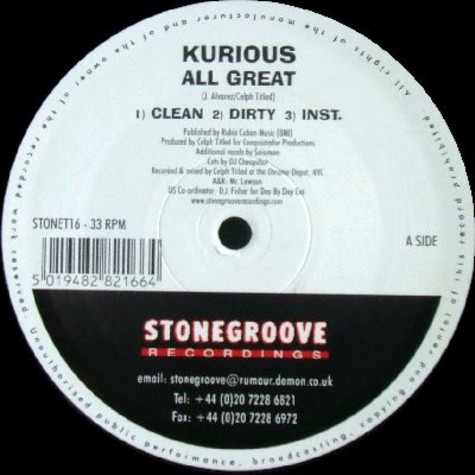 Kurious - All great