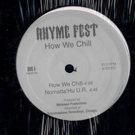 Rhyme Fest - How we chill