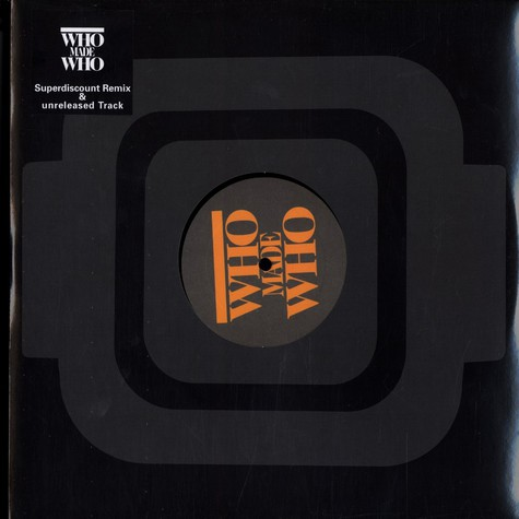 Who Made Who - Out the door