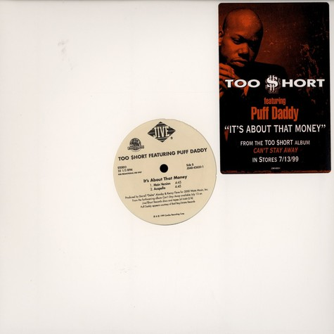 Too Short - It's about that money feat. Puff Daddy