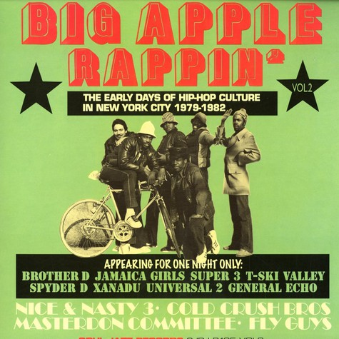 V.A. - Big apple rappin volume 2