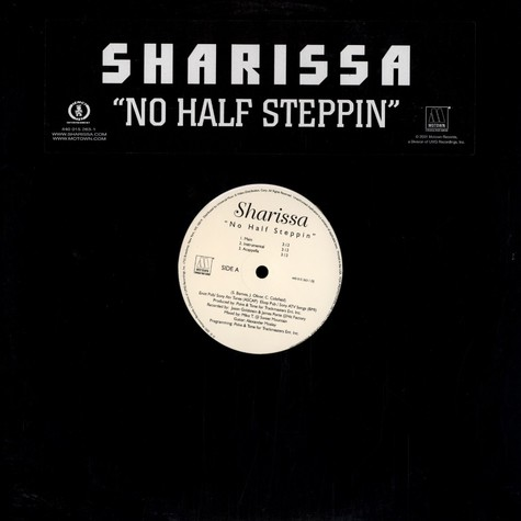 Sharissa - No half steppin