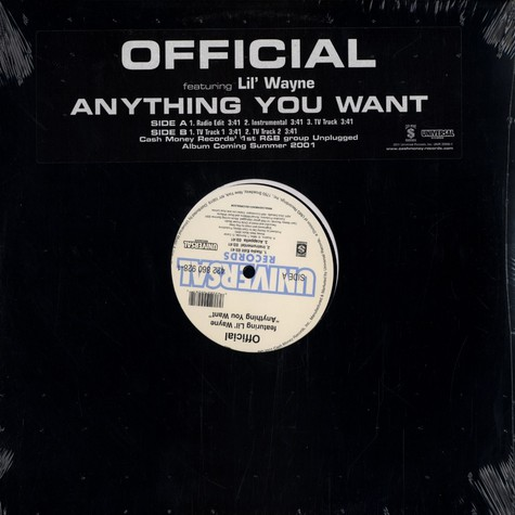 Official - Anything you want feat. Lil Wayne