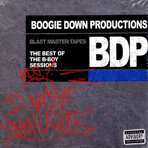 Boogie Down Productions - Blast master tapes - Best of the B-Boy sessions
