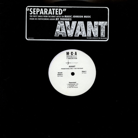 Avant - Separated