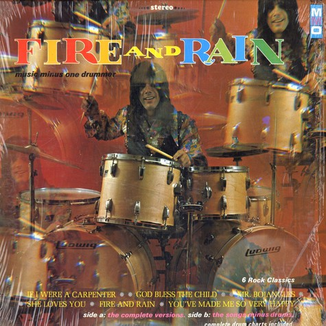 Noel Edward Smith - Fire and rain - music minus one drummer