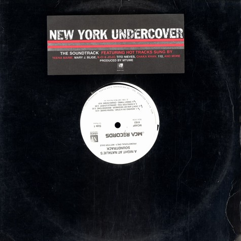 V.A. - OST New york undercover