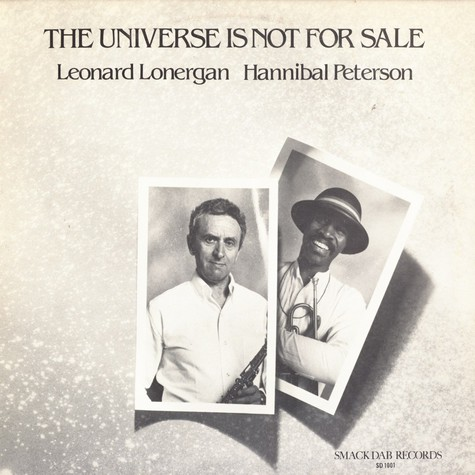 Leonard Lonergan & Hannibal Peterson - The universe is not for sale