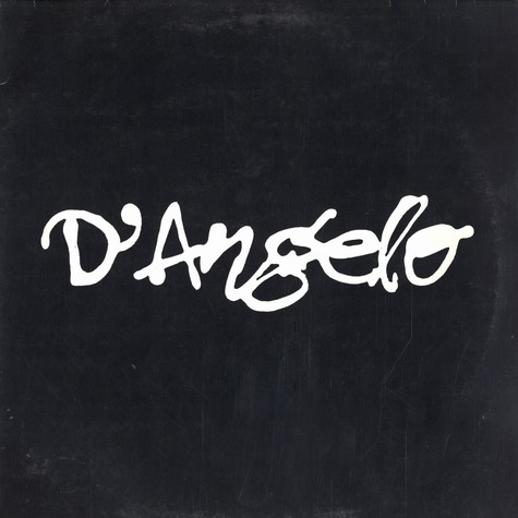 D'Angelo - 4 track album sampler