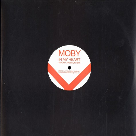 Moby - In my heart Jakob Carrison remix