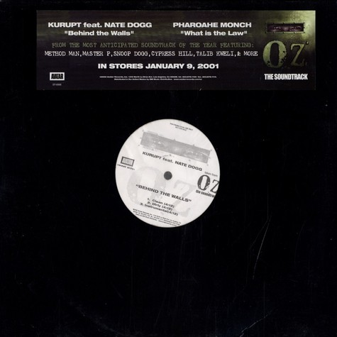 Kurupt / Pharoahe Monch - Behind The Walls / What Is The Law