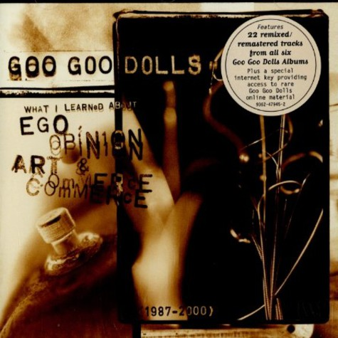 Goo Goo Dolls - Ego, opinion, art & commerce