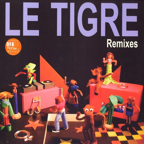 Le Tigre - Remixes EP