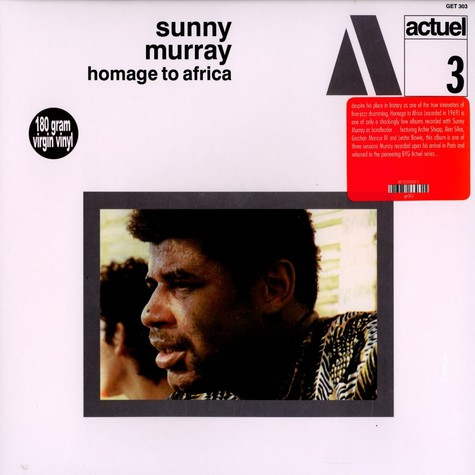 Sunny Murray - Homage to Africa