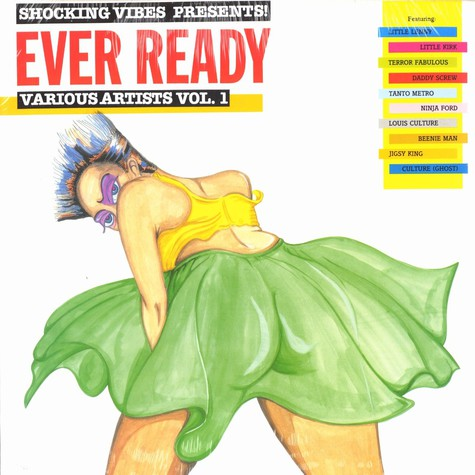 Shocking Vibes presents: - Ever ready - various artists volume 1