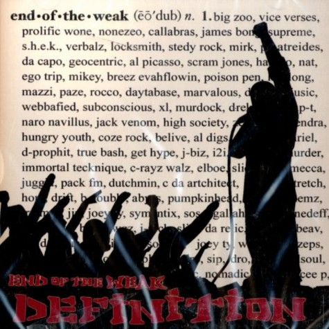 End Of The Weak - Definition