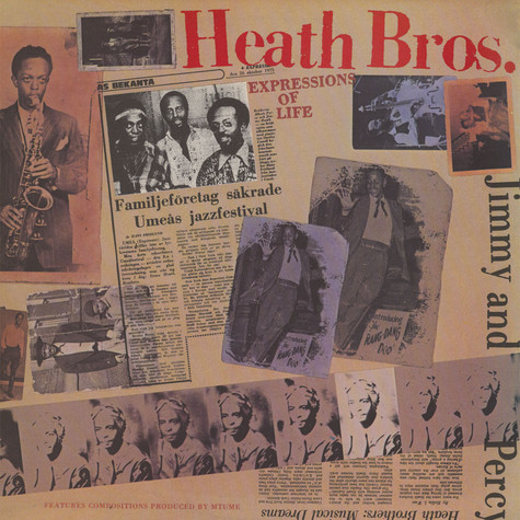 Heath Brothers, The - Expressions Of Life
