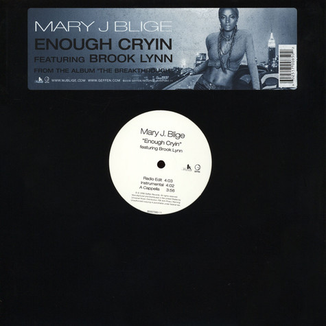 Mary J.Blige - Enough cryin feat. Brook-lyn