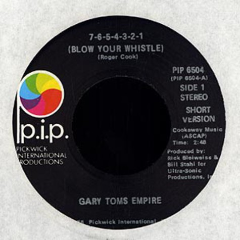 Gary Toms Empire - Blow your whistle