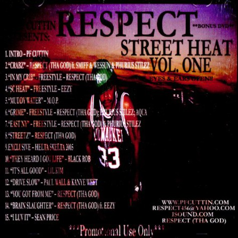 DJ PF Cuttin & Respect of Perverted Monks - Street heat volume 1