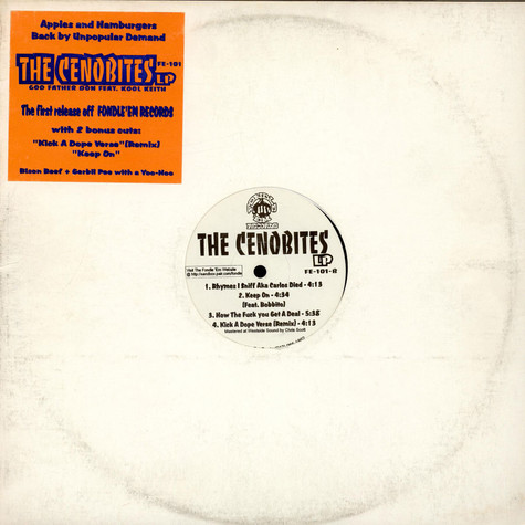Cenobites, The (Kool Keith & Godfather Don) - The Cenobites