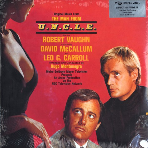 Hugo Montenegro - OST The man from U.N.C.L.E.