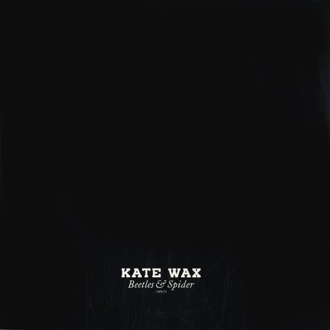 Kate Wax - Beetles & spider