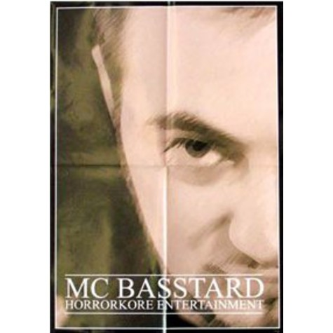 MC Basstard - Horrorkore A2 Poster