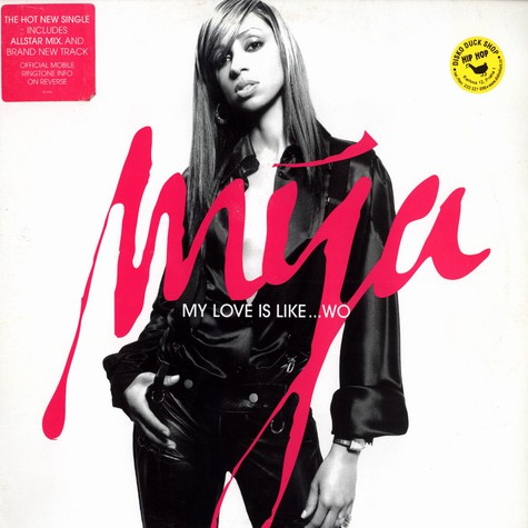 Mya - My love is like ... wo