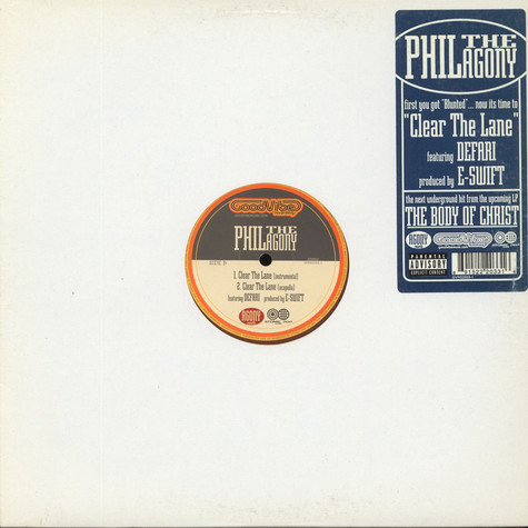 Phil The Agony - Clear The Lane feat. Defari