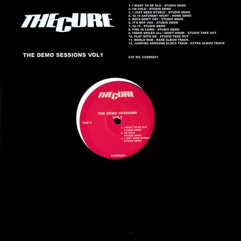 Cure, The - The demo sessions Volume 1