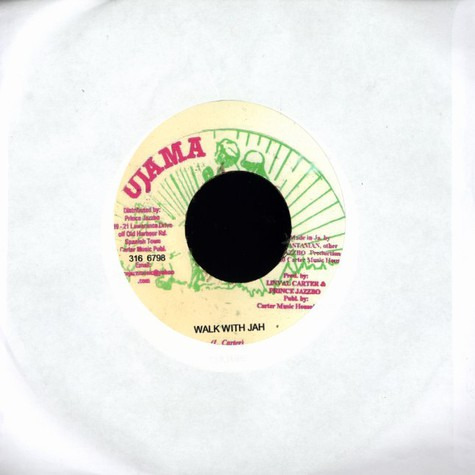Culture / Prince Jazzbo - Walk with jah / how you ago cross