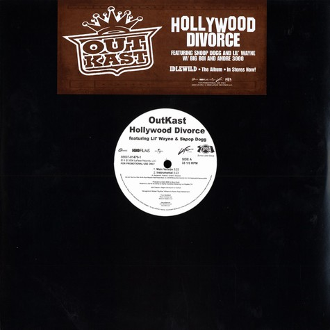 Outkast - Hollywood divorce feat. Snoop Dogg & Lil Wayne